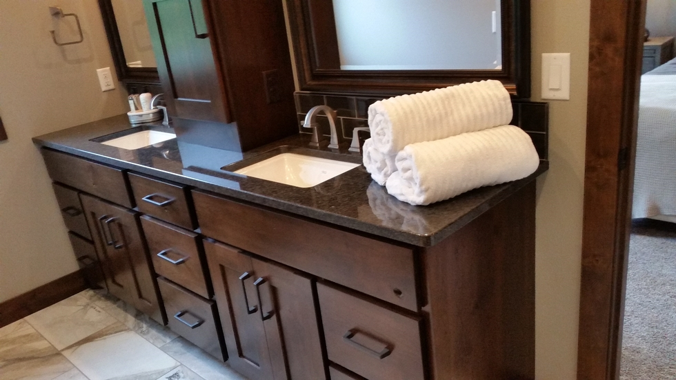 Discount bathroom vanities colorado springs 42u201d for Affordable furniture denver colorado