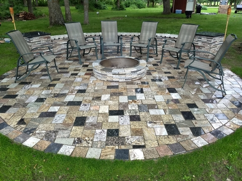 Outdoor Granite Accents
