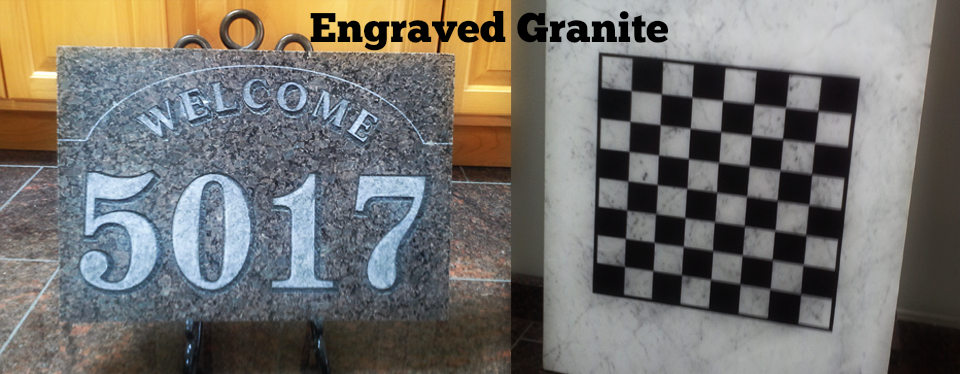 Engraved Granite