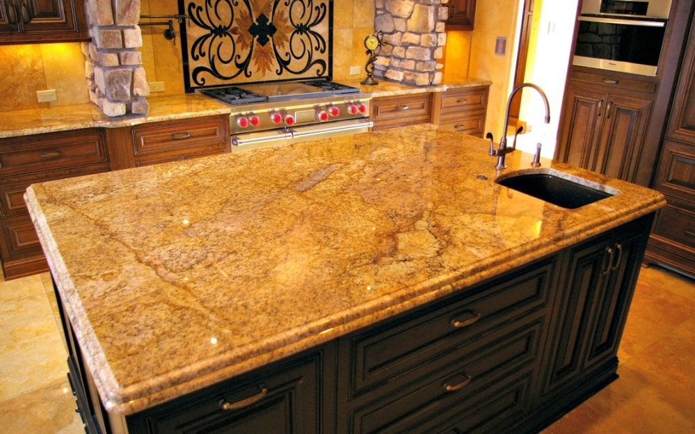 Tour This Tuscan Style Home With Custom Granite Countertops Installed By Accents In Colorado Springs Co Located Flying Horse Featured
